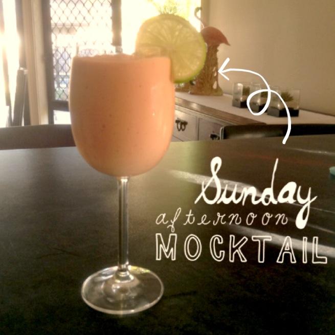 Fruity Coconut Mocktail