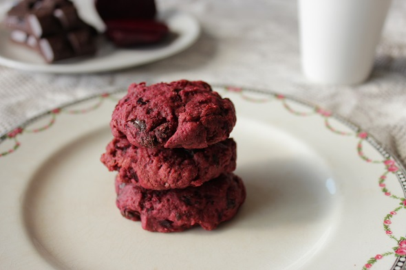 Choc-Beetroot-Biscuits