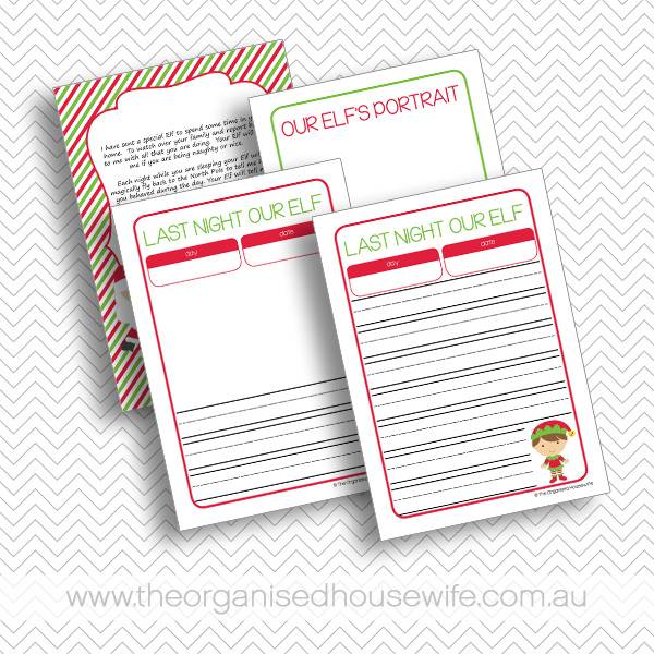 Letters about Elf from Santa and a Letter from Elf – Editable, type ...