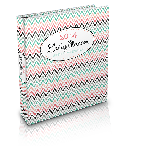 {The Organised Housewife} 2014 Daily Planner Binder 600