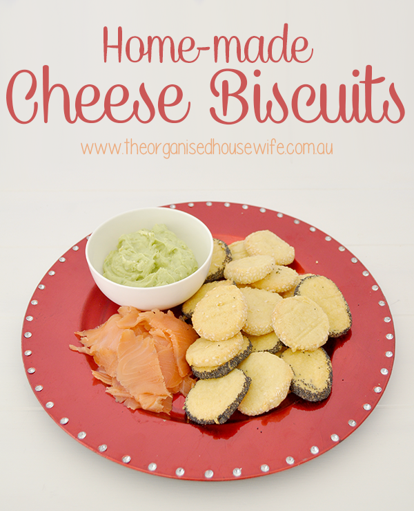{The Organised Housewife} Cheese Biscuits