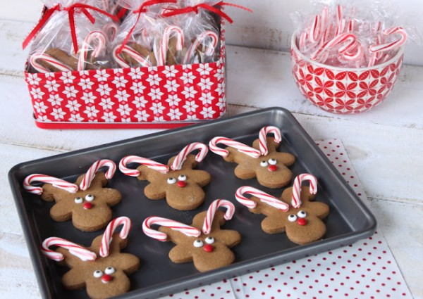 {The Organised Housewife} How to make gingerbread reindeer 12