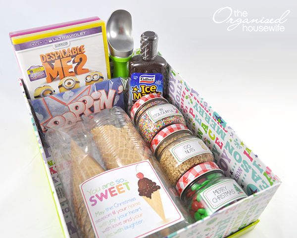 {The Organised Housewife} Ice Cream Movie Gift Pack 2