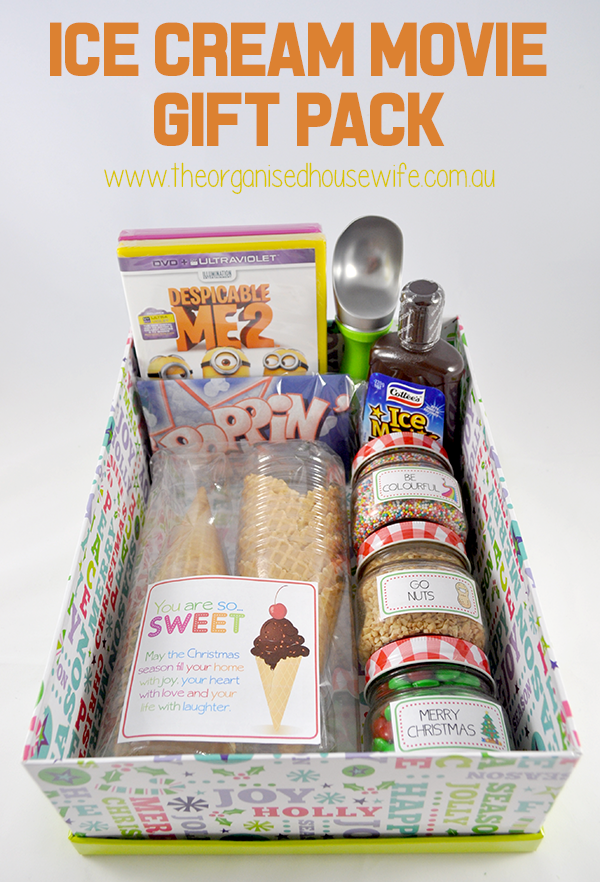 {The Organised Housewife} Ice Cream Movie Gift Pack