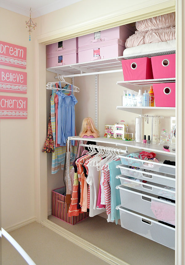 Tween Wardrobe Makeover The Organised Housewife