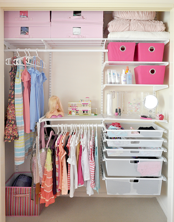 Tween wardrobe makeover the organised housewife for Kids room closet ideas