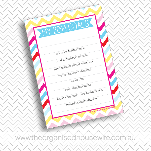 {The Organised Housewife} 2014 Decluttering Goals