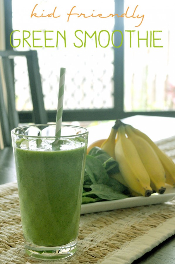{The Organised Housewife} Kid Friendly Green Smoothie