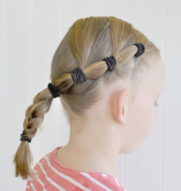 {The Organised Housewife} School Girls Hairstyle 2