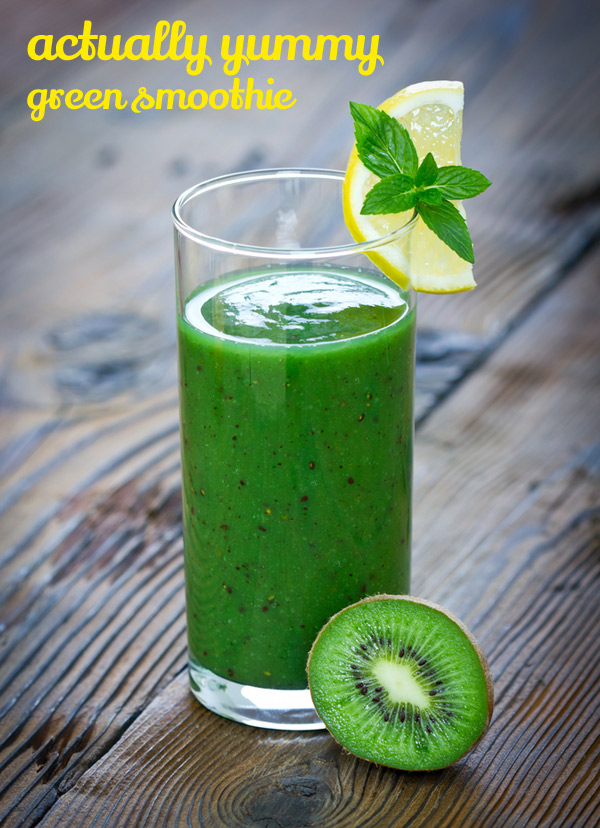 Kid Friendly Green Smoothie – The Organised Housewife
