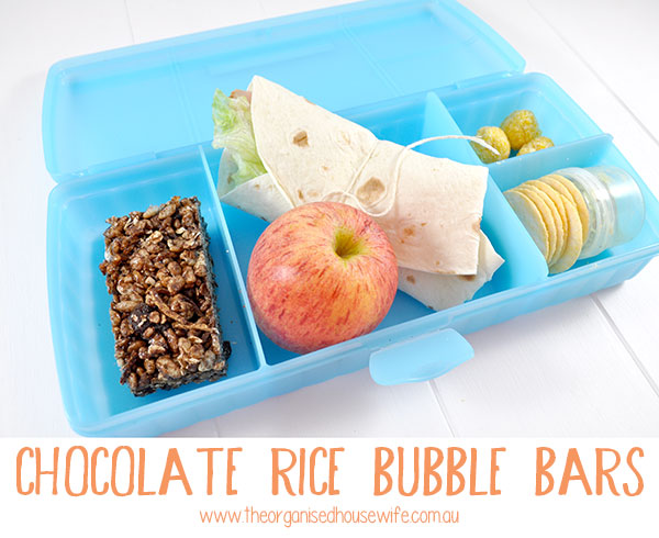 {The-Organised-Housewife}-Chocolate-Rice-Bubble-Bars