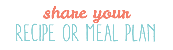 share your meal plan