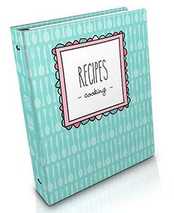 {The Organised Housewife} Recipe Organiser - Cooking 300