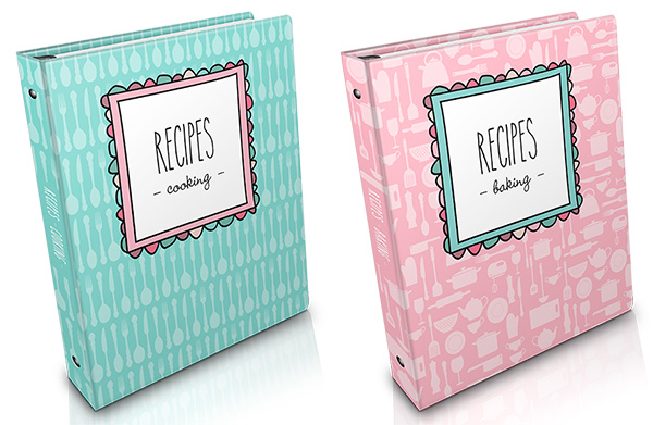 Recipe organiser for loose magazine pages