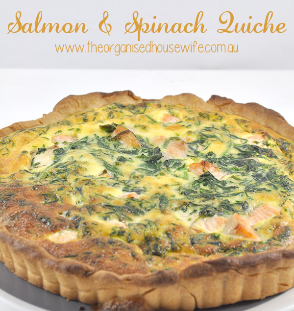 {The-Organised-Housewife}-Salmon-and-Spinach-Quiche