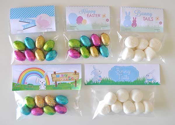 Easter gift bag toppers the organised housewife easter bag toppers 5 negle