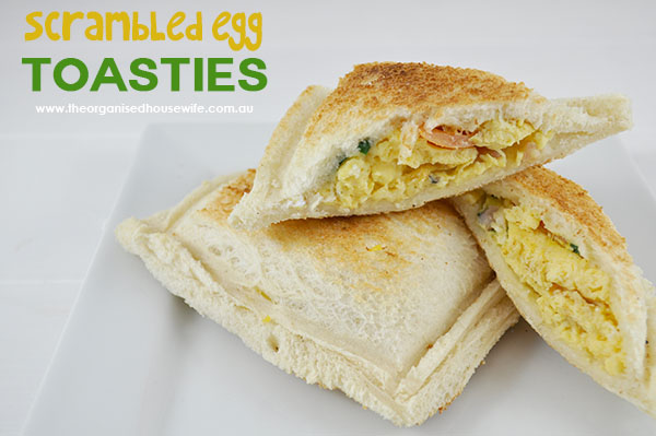 Scrambled Egg Toasties