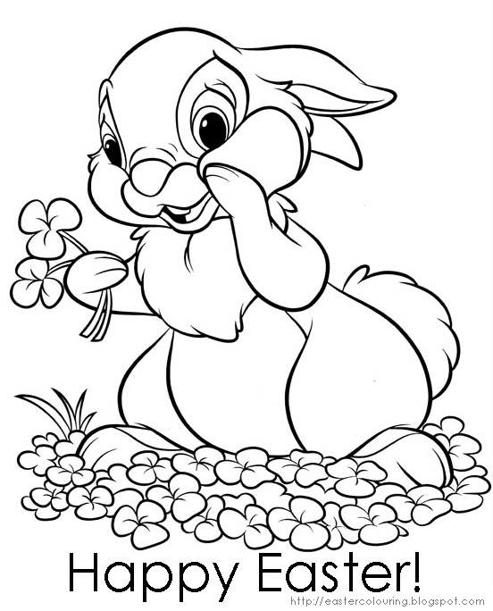 coloring pages easter - photo#14