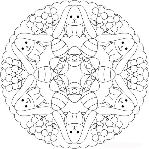 family fun easter coloring pages - photo#19