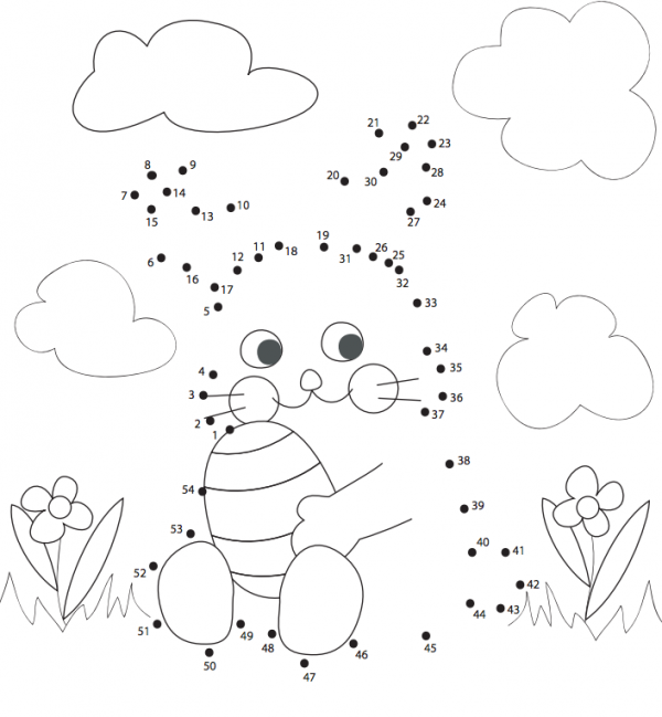 free dot coloring pages - photo#9
