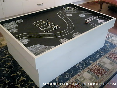 Chalk play table