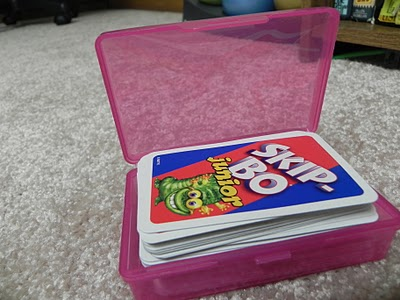 Soap box card storage