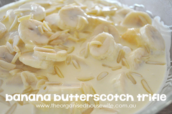 {The-Organised-Housewife}-Banana-Butterscotch-Trifle
