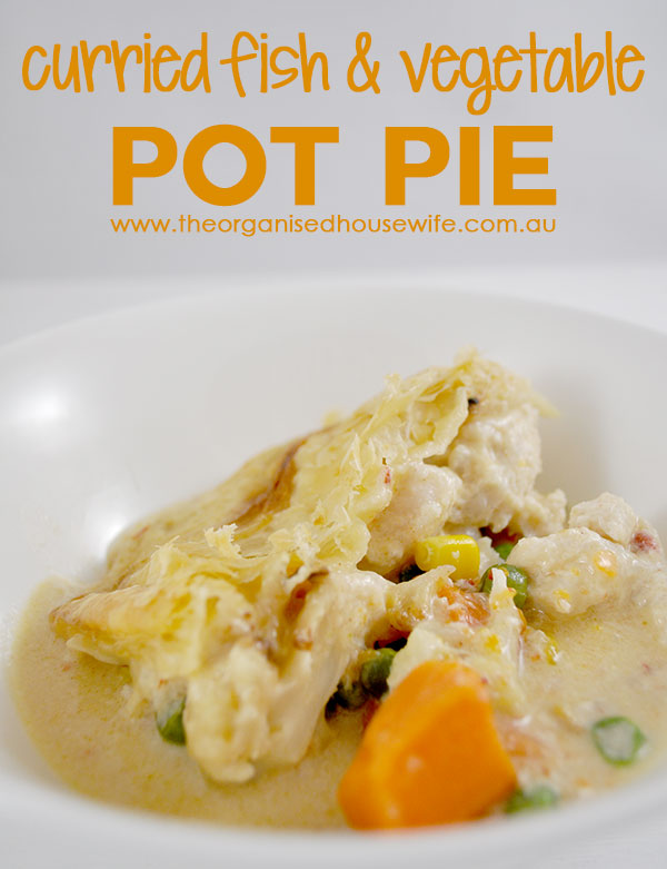 Curried Fish and Vegetable Pot Pie