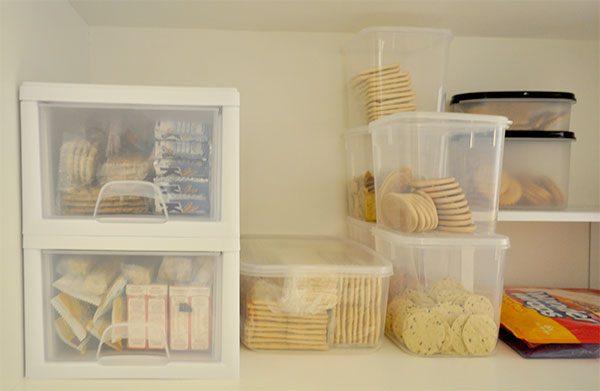 Creating An Organised Pantry On A Budget The Organised Housewife