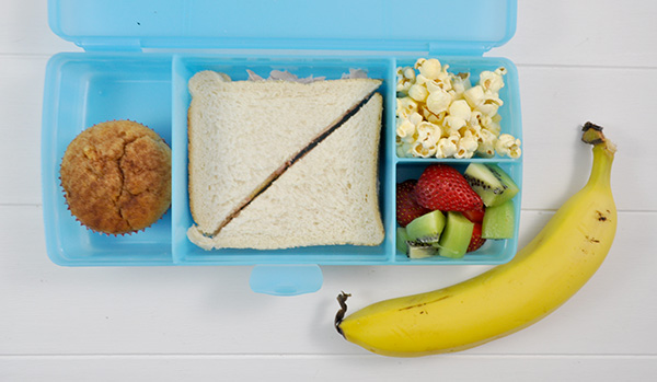 {THE ORGANISED HOUSEWIFE} Healthy Lunchbox idea