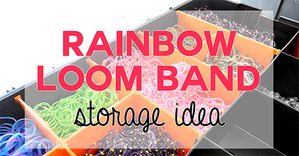 {The Organised Housewife} Loomband Organising and Storage