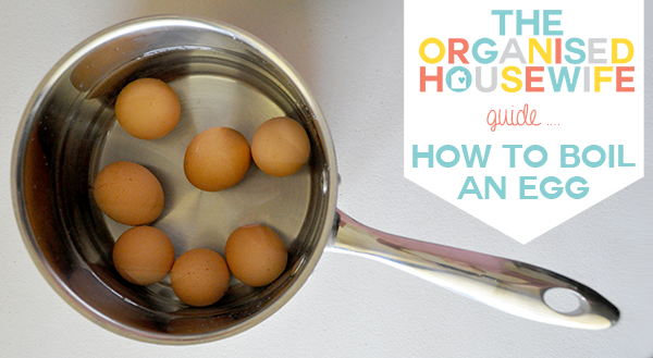 The Organised Housewifes guide - how to build an egg