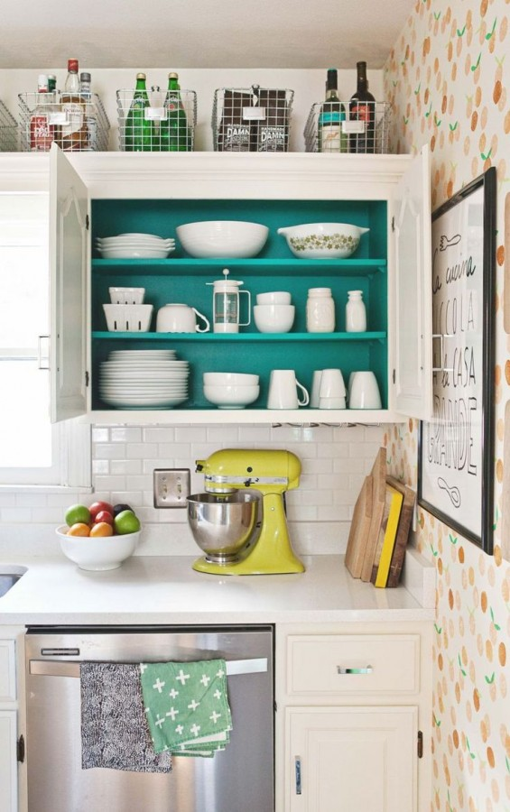 kitchen cabinet idea 1 & Clever kitchen organising ideas - The Organised Housewife