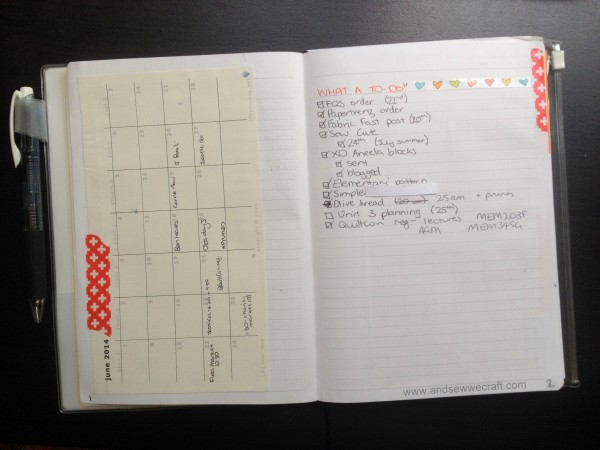 Calendar Ideas Bullet Journal : Bullet journalling changed my life the organised housewife