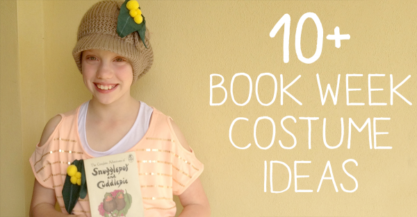 Are your kids eagerly trying to work out who they are going to be dressing up as at this years Book Character Parade? I've put together a collection of book week costume ideas to inspire you, along with a list of some great Aussie books.