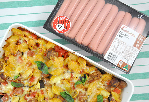 {The Organised Housewife} Sausage Pasta Bake 5