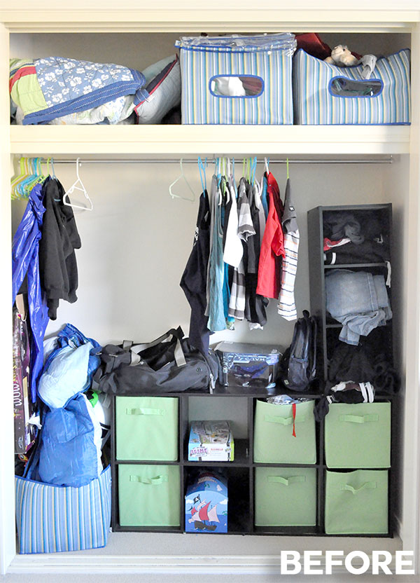 Organising The Wardrobe For A Growing Boy