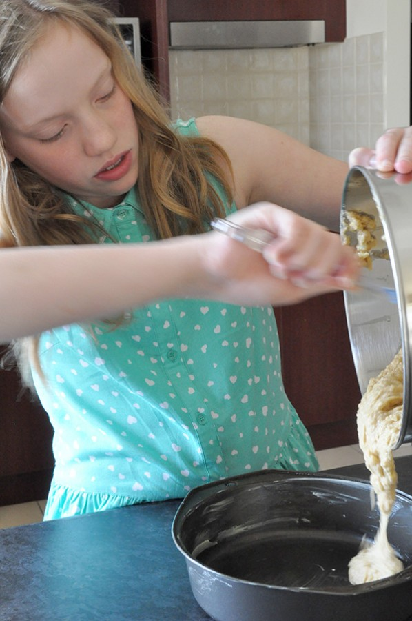 {The Organised Housewife} Kids in the Kitchen - Healthy Apple Cake 10