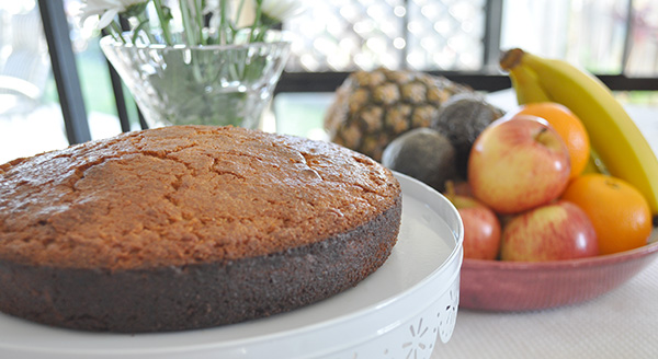 {The Organised Housewife} Kids in the Kitchen - Healthy Apple Cake a