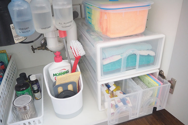 Store your wipes out of the sunlight, I keep mine under the sink.