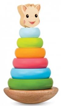 Sophie the girrafe stacking toy