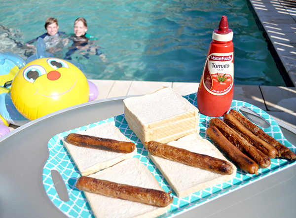 {The Organised Housewife} Sausage Sandwiches