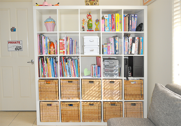 {The Organised Housewife} Toy Room Storage Ideas3