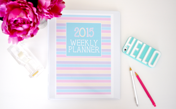 {The Organised Housewife} Weekly Planner 5