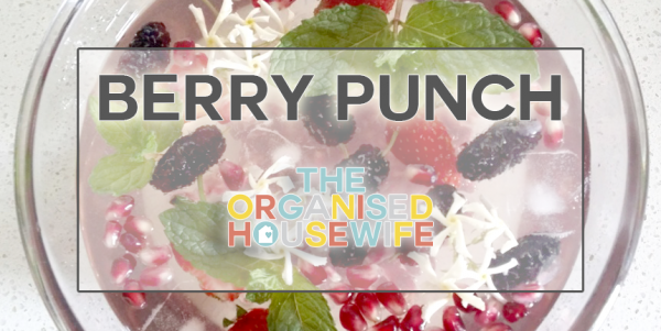 Berry Punch with Raspberry Jam Cordial 2