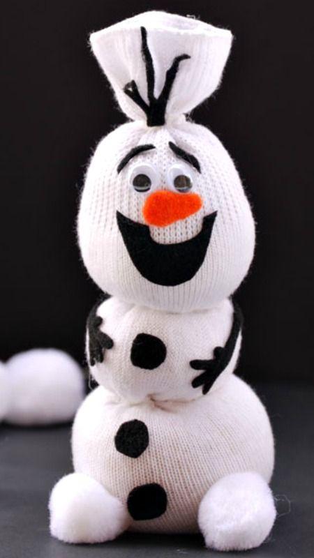 Frozens Olaf Snowman Tutorial