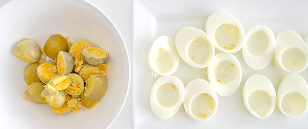 {The Organised Housewife} Devilled Eggs 2