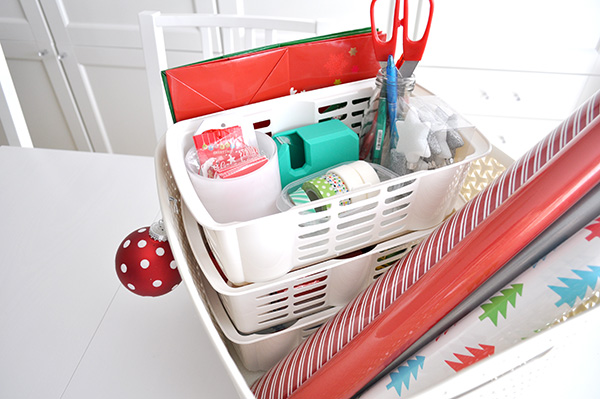 {The Organised Housewife} Gift Wrapping Basket 4