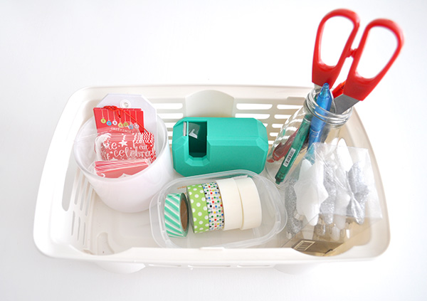 {The Organised Housewife} Gift Wrapping Basket 5