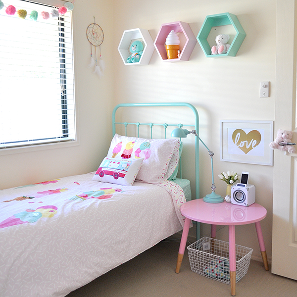 {The Organised Housewife} Girls Bedroom Makeover 10 IG